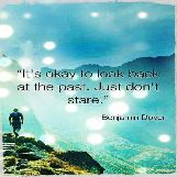 Don't stare at the past