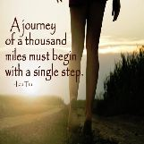 Every Journey Starts with One Step