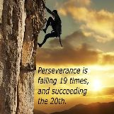Perseverance is Never Giving Up