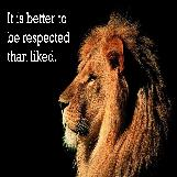 Respect Versus Being Liked