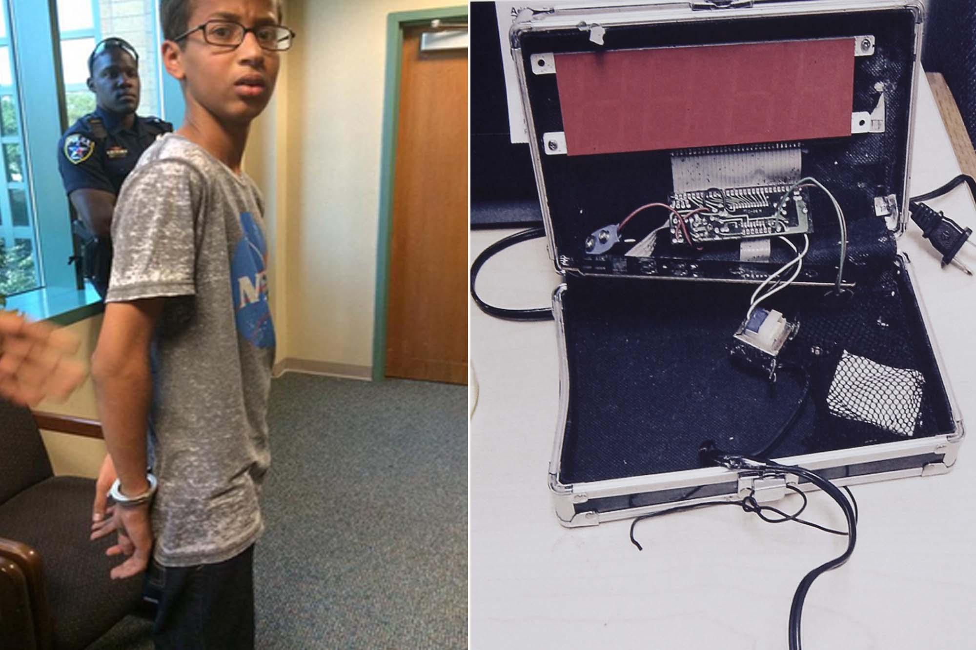 Ahmed Mohamed Clock Bomb Scare