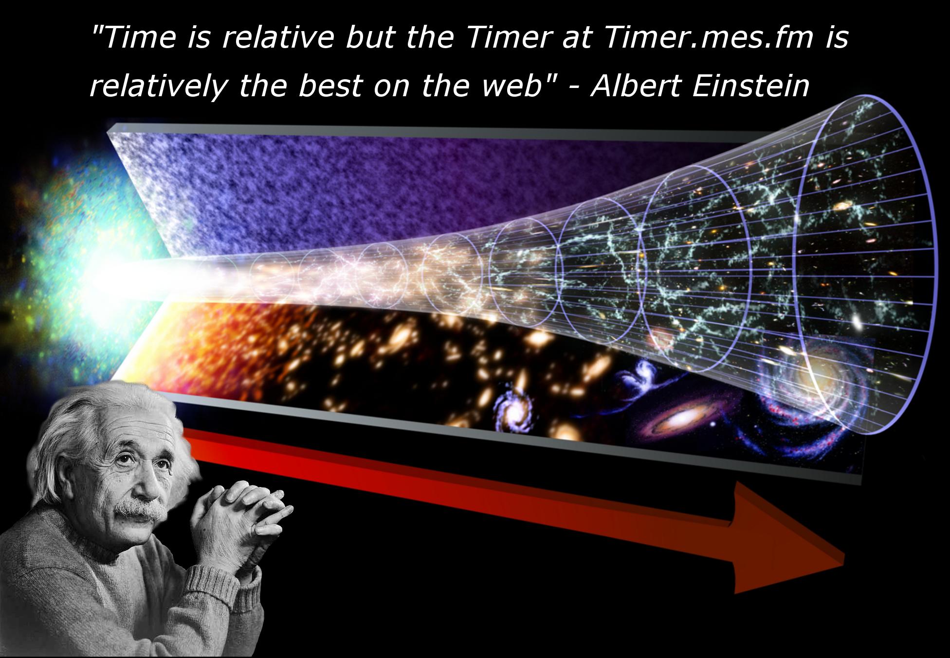 Albert Einstein likes our Timer