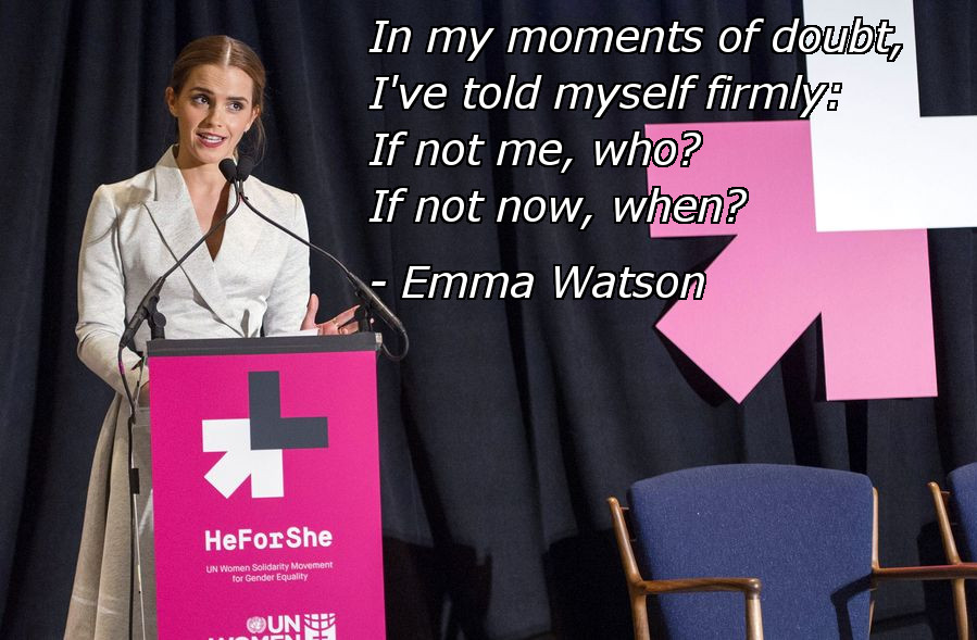 Emma Watson Powerful Quote from UN Speech