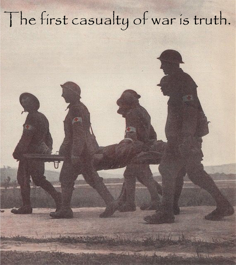 First Casualty of War is Truth