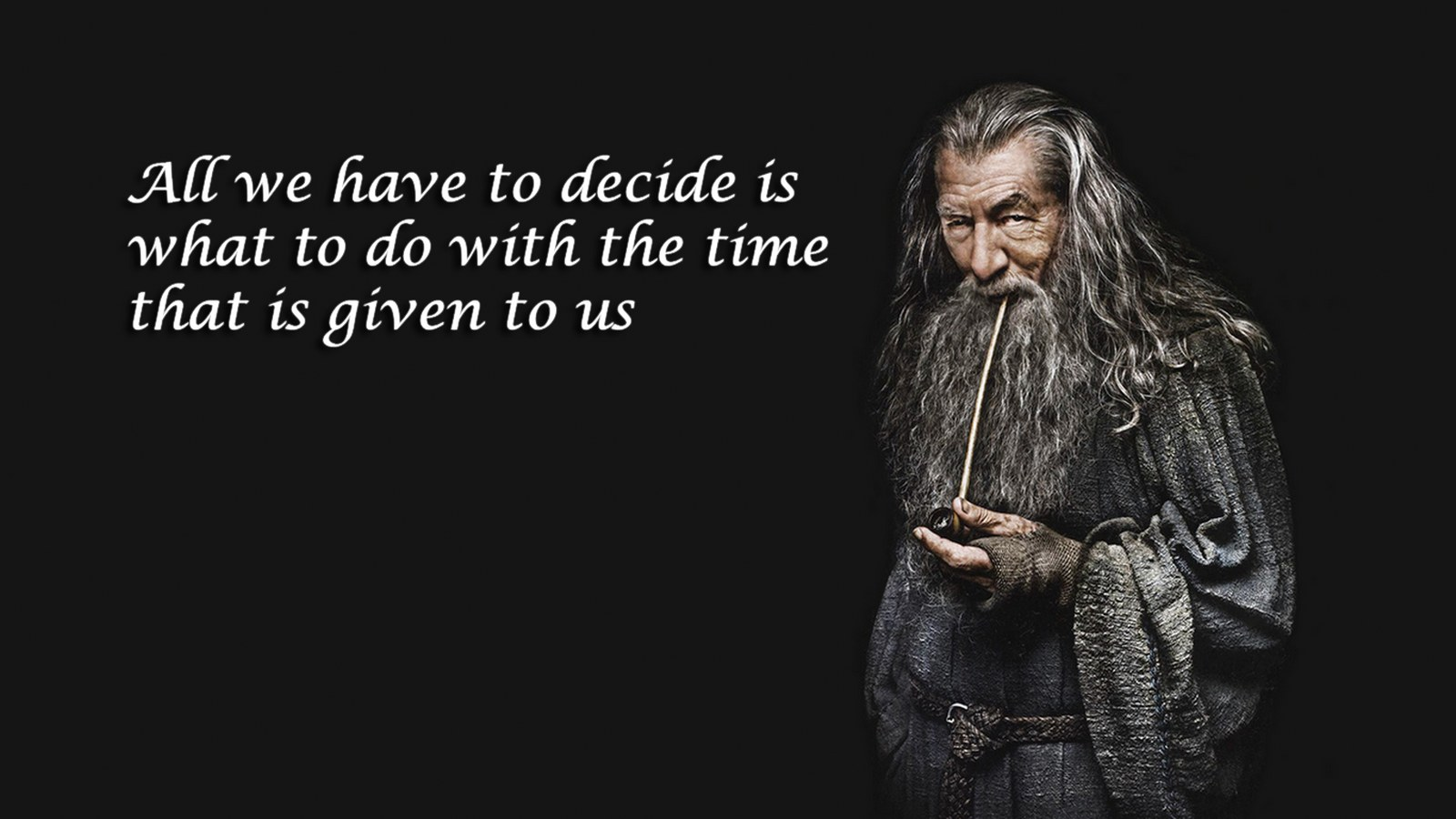 Great Gandalf Time Quote