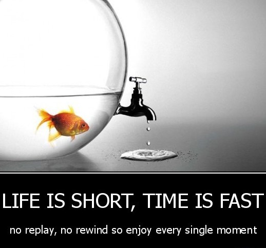 Life is Short, Time is Fast