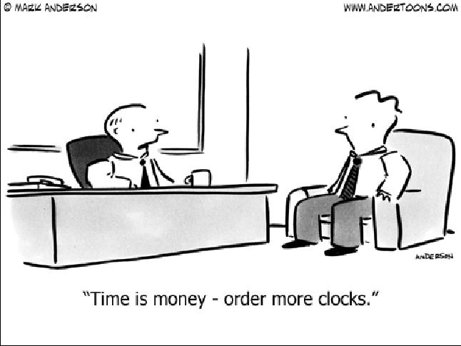 Order More Clocks