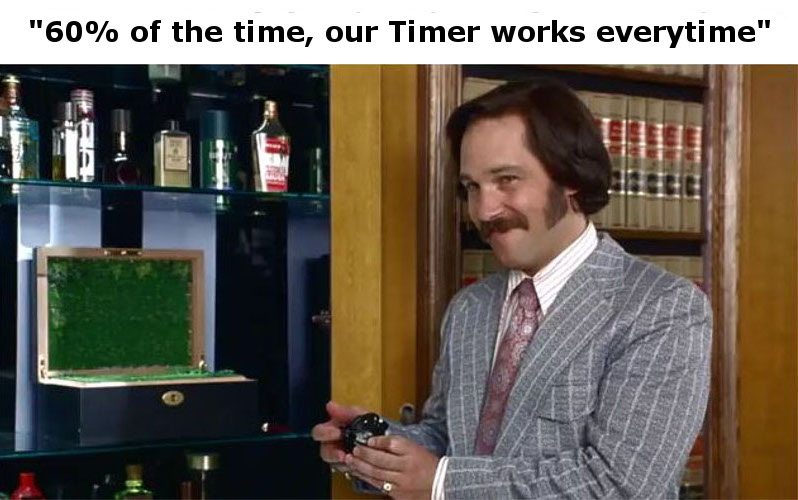 Our Timer works everytime