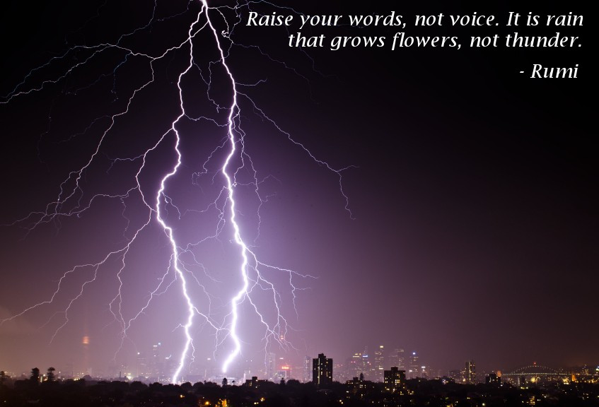 Raise Your Words Not Your Voice