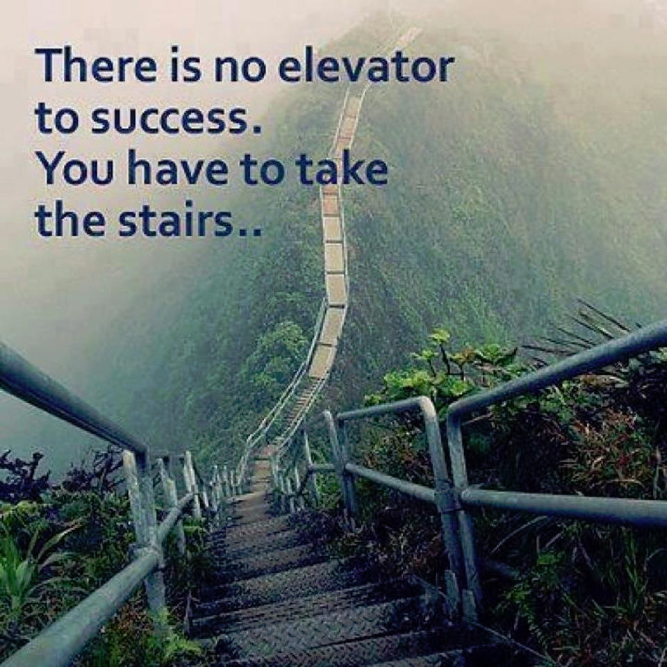 Take the Stairs to Success