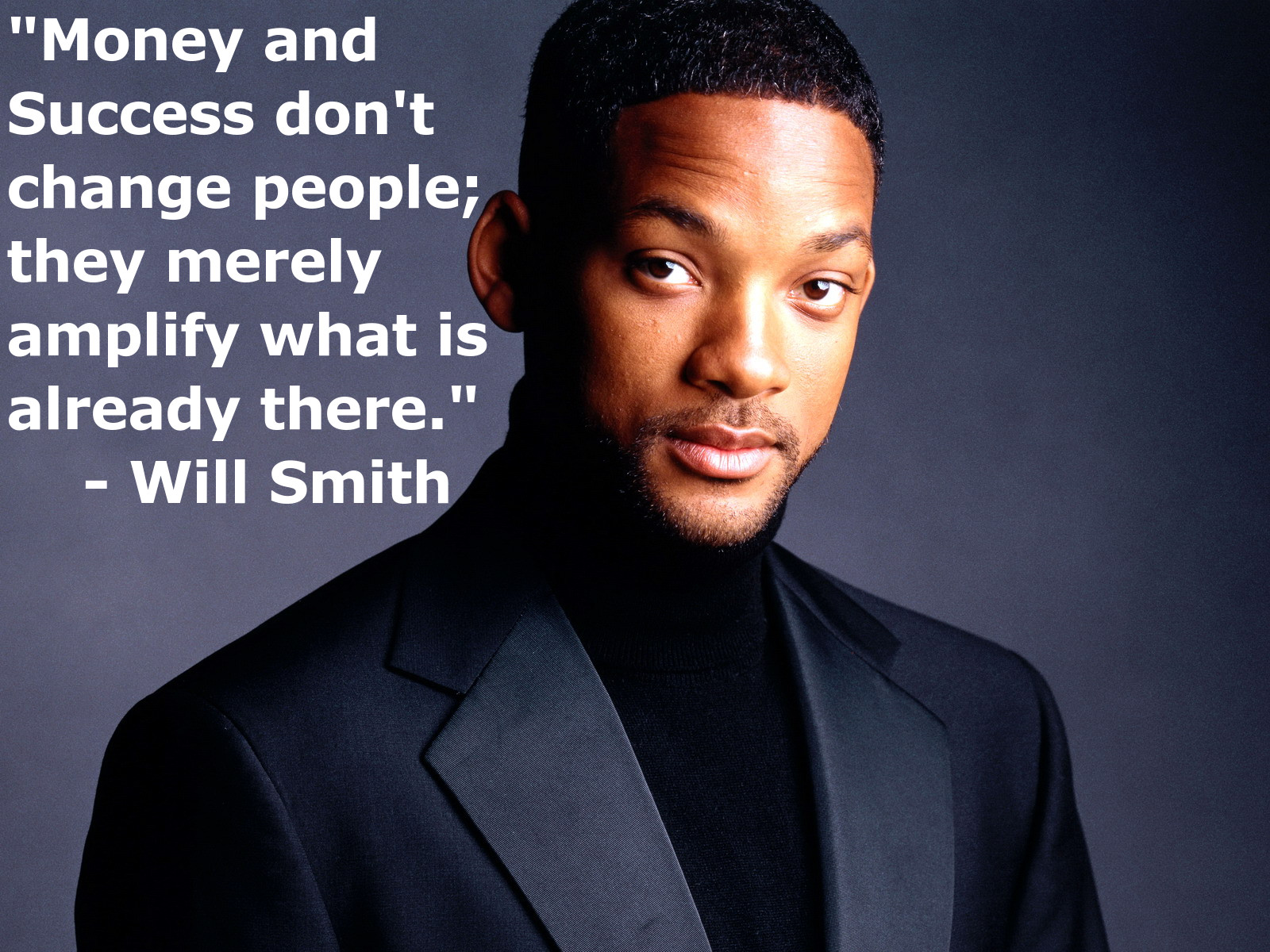 Will Smith Quote on Money and Success