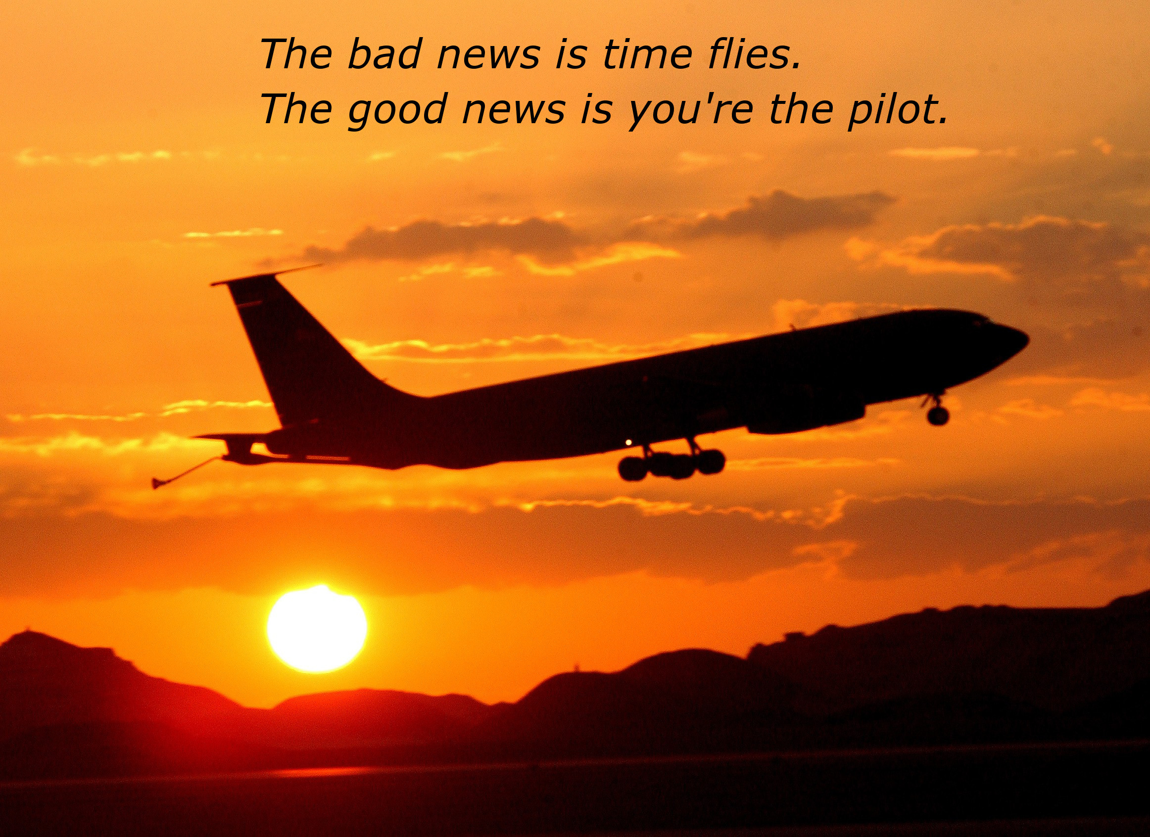 you are the pilot inspirational quotes timer. Black Bedroom Furniture Sets. Home Design Ideas